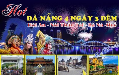 Tour du lịch Đà Nẵng 4 ngày 3 đếm