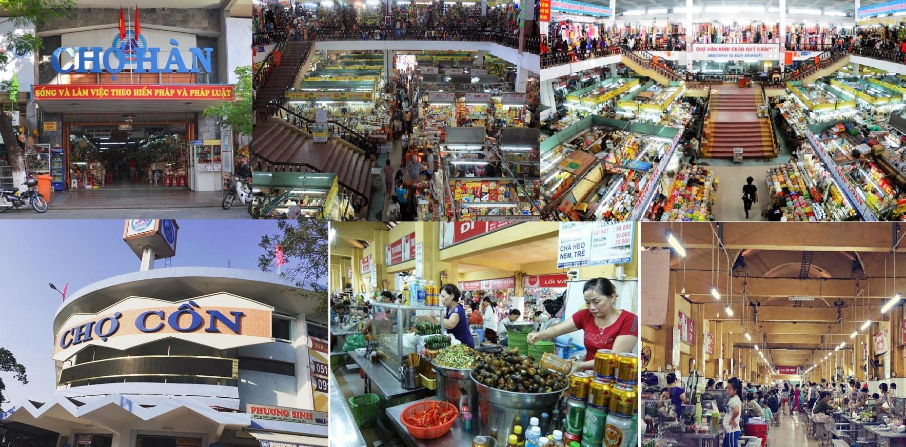 Chợ Hàn - Chợ Cồn