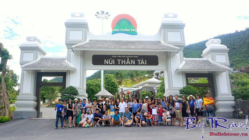 Tour du lịch Núi Thần Tài