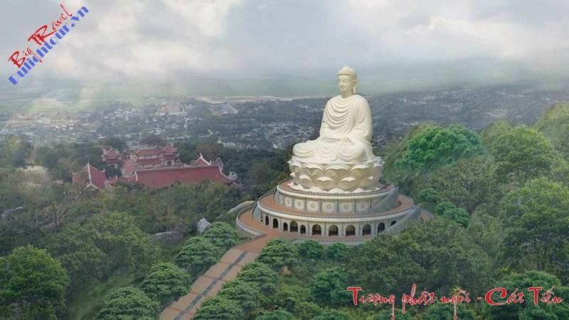 Tượng Phật cao nhất Đông Nam Á