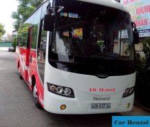 Thuê xe 35 chỗ đón sân bay Đà Nẵng