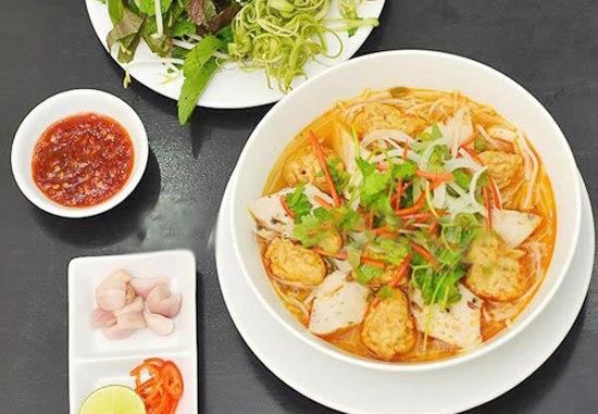 Bún chả cá ở Đà Nẵng