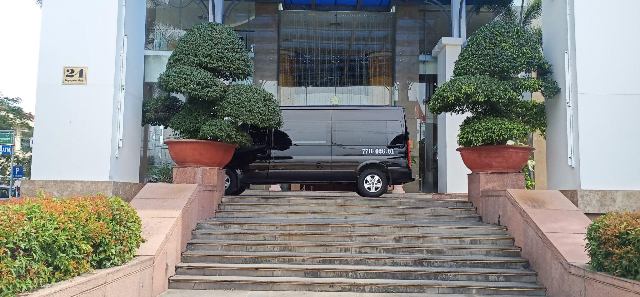 Thuê xe 16 chỗ đi Phú Yên